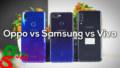 Samsung Galaxy A7 vs Vivo V11i vs Oppo F9