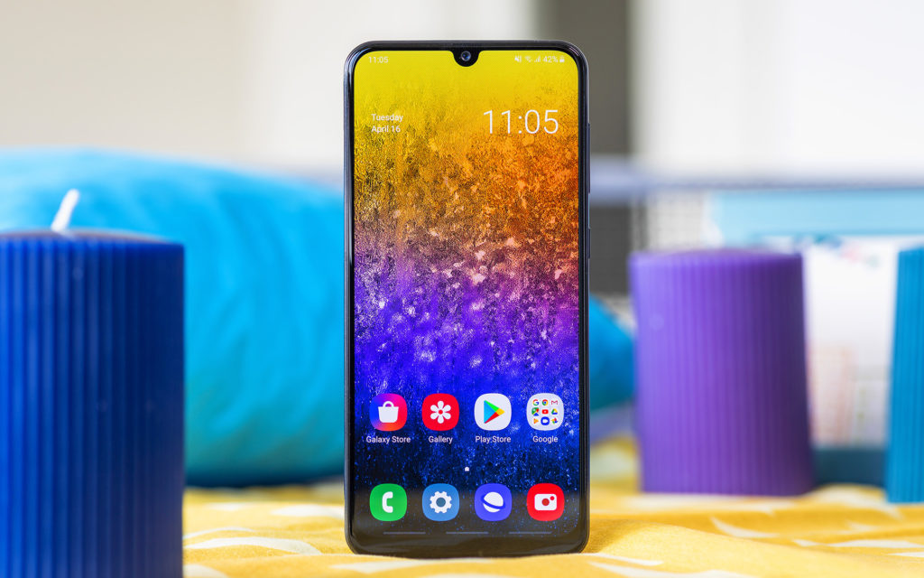 Galaxy a50 front view