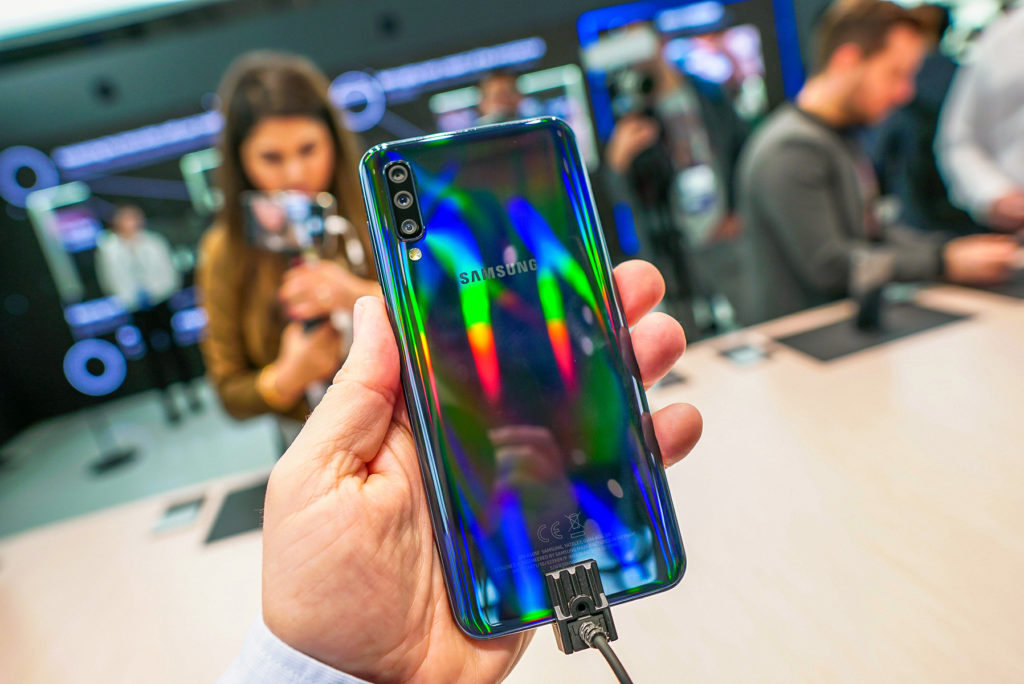 Galaxy a50 looking colorful