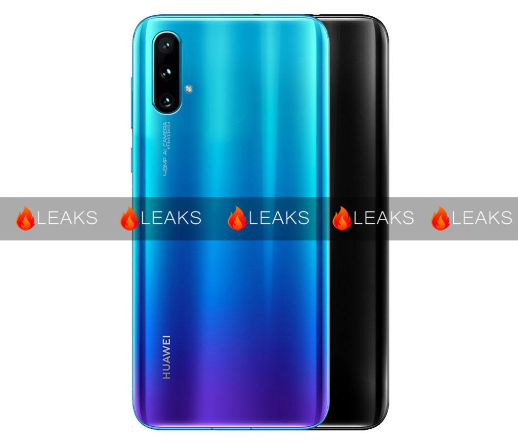 Huawei nova 5 back side