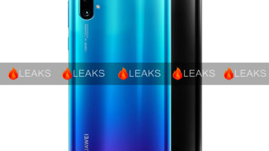 Photo of Huawei Nova 5 back case were leaked online