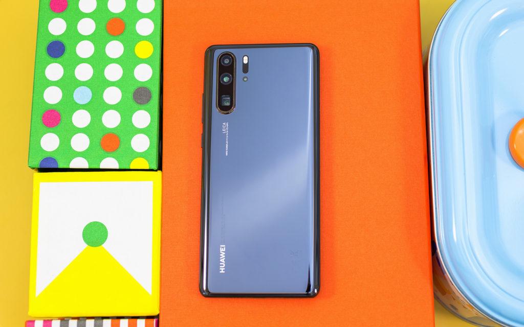 Huawei P30 Pro back side