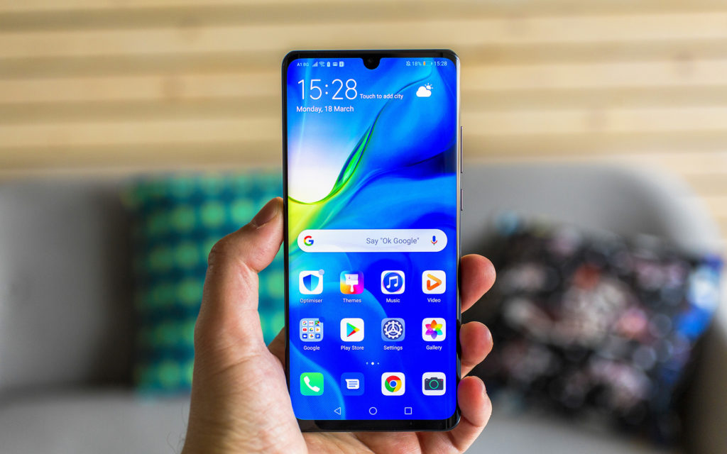 Huawei P30 Pro front side