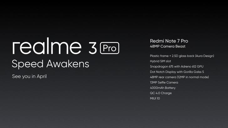 Realme 3 pro hardware