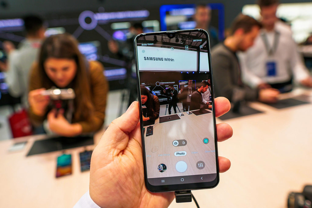 Samsung Galaxy a50 primary camera