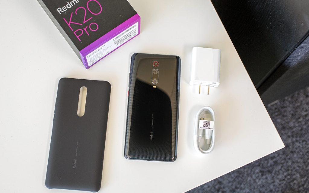 Xiaomi Redmi K20 Pro in The Box