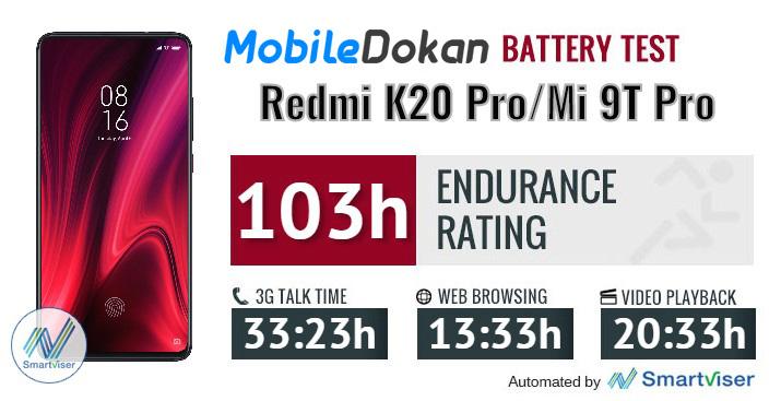 K20 Pro / Mi 9T Pro Battery Test