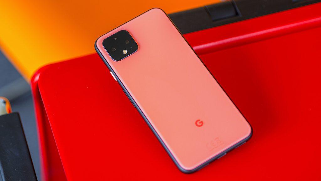Google Pixel 4 back side