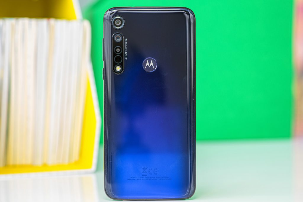 Moto G8 Plus Back side view