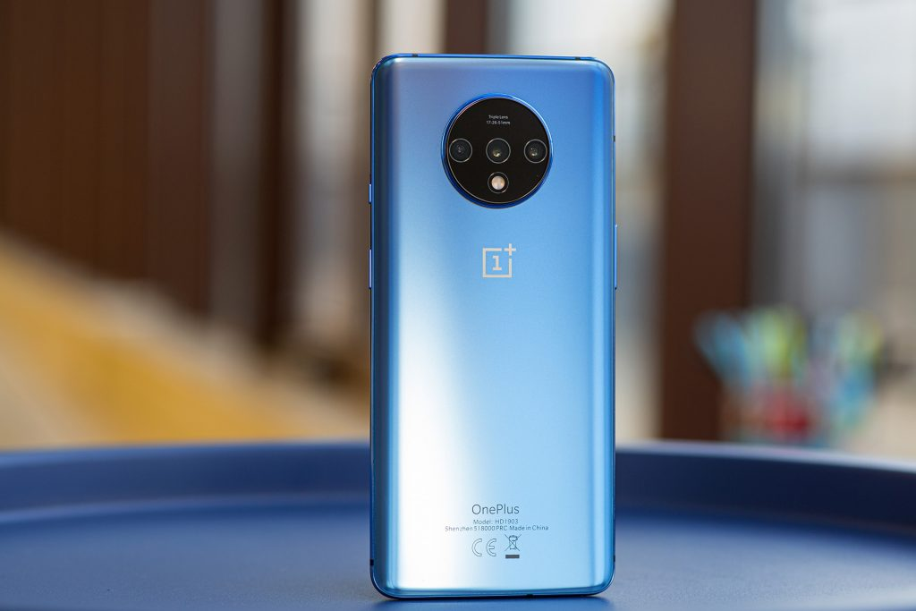 OnePlus 7T Backside view